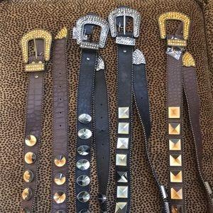Bling Cowboy Belts